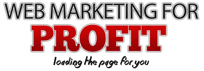web marketing for profit